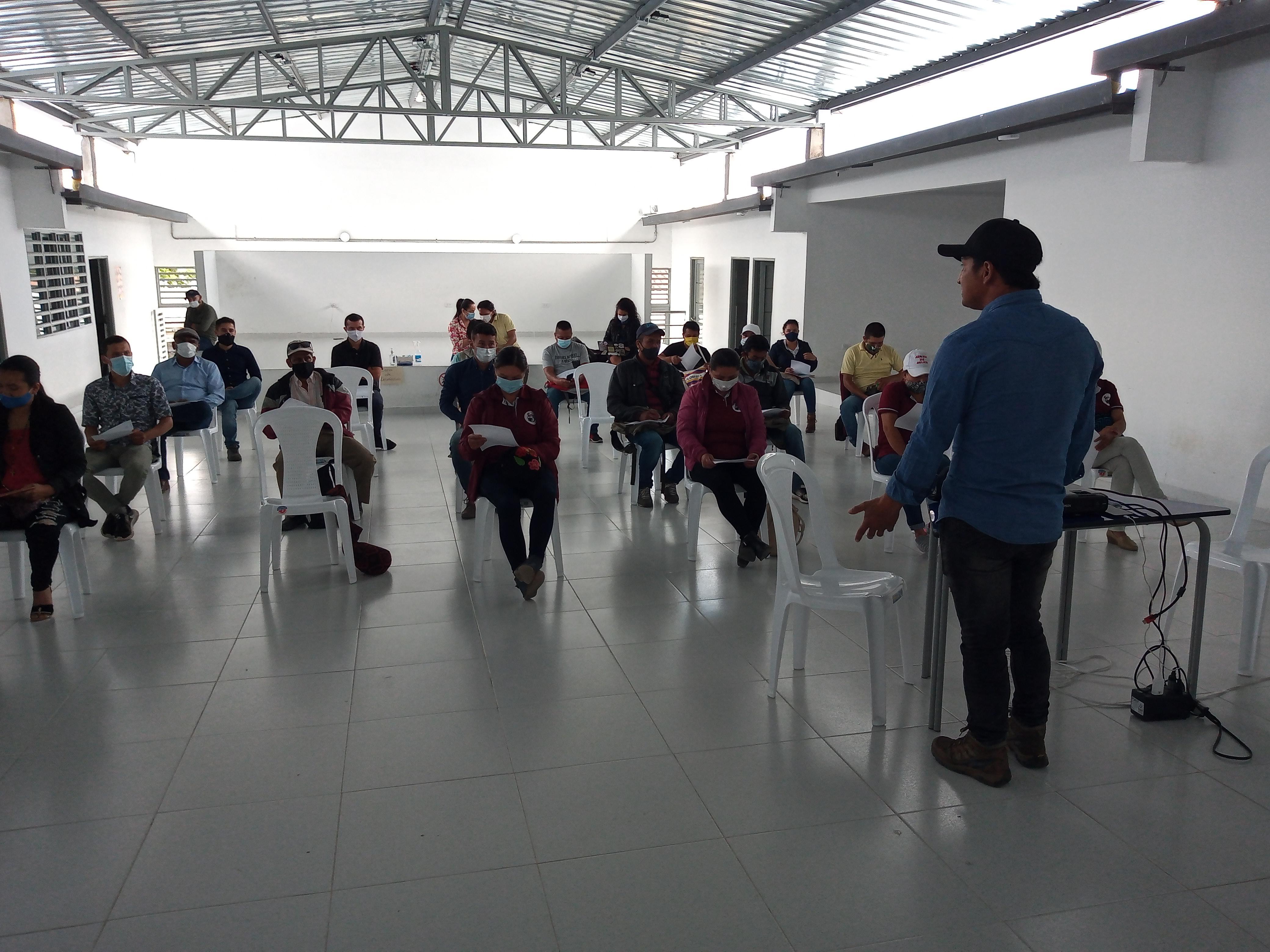 Imagen alusiva a Encuentro de los actores de la Serranía: El comienzo de una nueva etapa para el área protegida